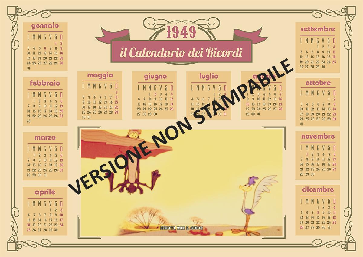 Calendario 1949.1949
